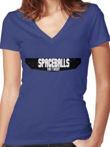 The Spaceballs T Shirt Women's Fitted V-Neck T-Shirt