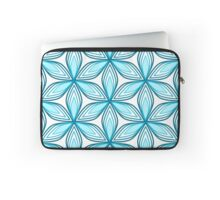 Floral fantasy in blue Laptop Sleeve