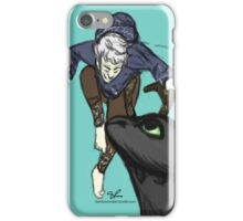 Jack and the Dragon iPhone Case/Skin