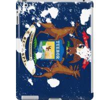 Michigan Splatter iPad Case/Skin