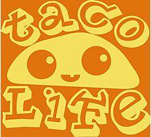 Taco Life Photographic Print