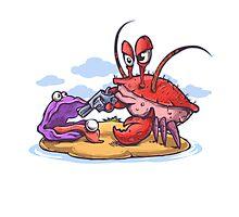 crab robber Photographic Print