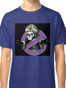 ghost bc black cartoon Classic T-Shirt