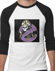 ghost bc black cartoon Men's Baseball ¾ T-Shirt
