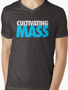 Cultivating Mass Mens V-Neck T-Shirt
