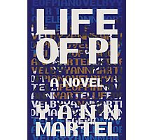 Life of Pi - Book Cover Design Photographic Print