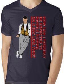 Big Day Off Mens V-Neck T-Shirt