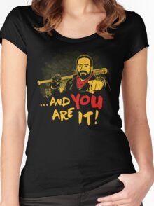 And you are it Women's Fitted Scoop T-Shirt