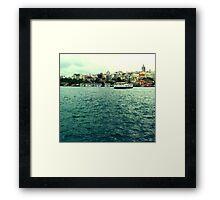 Istanbul Framed Print