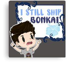 I still ship Bonkai Canvas Print