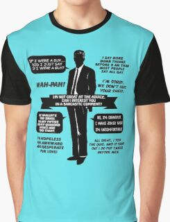 Chandler Bing Quotes. Friends. Graphic T-Shirt