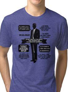 Chandler Bing Quotes. Friends. Tri-blend T-Shirt