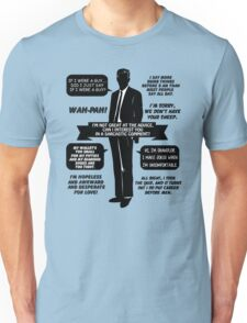 Chandler Bing Quotes. Friends. Unisex T-Shirt