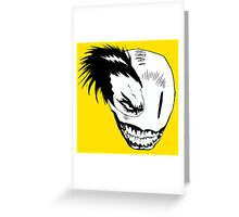 Psycho Smile Greeting Card