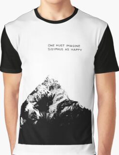 One Must Imagine Sisyphus as Happy Graphic T-Shirt