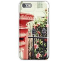 Postbox and Camellias iPhone Case/Skin