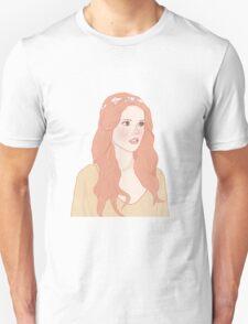 Pastel color girl Unisex T-Shirt