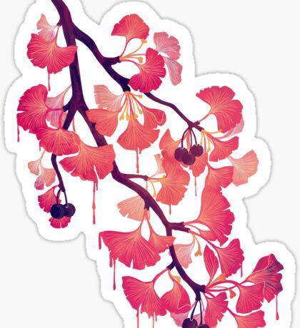 O Ginkgo Sticker