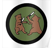 4chan /out Bears Patch Poster