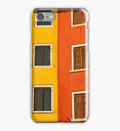The wall and the window, mediterranian architecturure iPhone Case/Skin