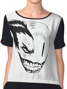 Psycho Smile alternate Chiffon Top