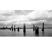 Stralsund - vom Dänholm Photographic Print