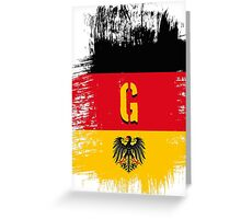 germany at it's best. Greeting Card