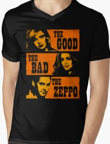 The Good The Bad The Zeppo Mens V-Neck T-Shirt