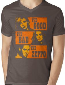 The Good The Bad The Zeppo Mens V-Neck T-Shirt