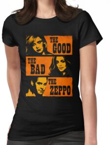 The Good The Bad The Zeppo Womens Fitted T-Shirt