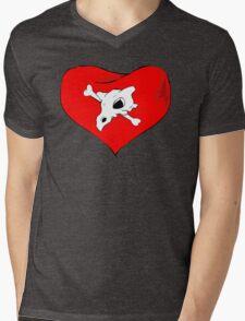 cubone loves mommy Mens V-Neck T-Shirt