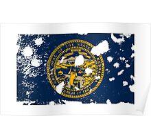 Nebraska Splatter Poster