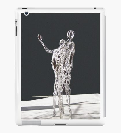Silver Statues iPad Case/Skin