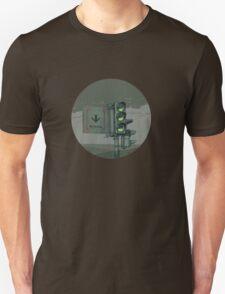 Apocalyptic traffic light Unisex T-Shirt
