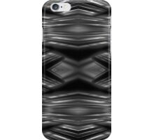 Monochrome futuristic pattern iPhone Case/Skin