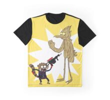 Rocket Rigby and Mordegroot Graphic T-Shirt
