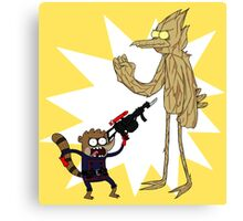 Rocket Rigby and Mordegroot Canvas Print