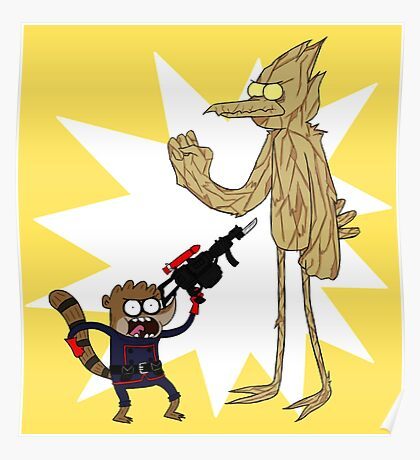 Rocket Rigby and Mordegroot Poster