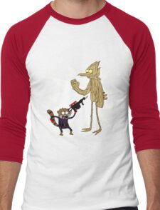Rocket Rigby and Mordegroot Men's Baseball ¾ T-Shirt