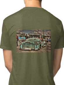Rusty Chevrolet HDR Tri-blend T-Shirt
