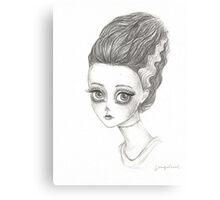 Frankenstein's bride  Canvas Print