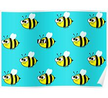 Bee Cool Poster