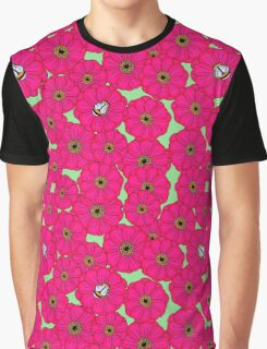 Bright Flowers  Graphic T-Shirt