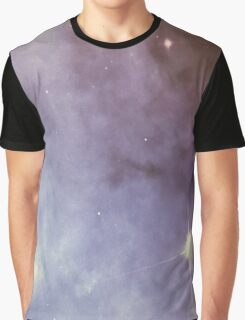 Purple Clouds Graphic T-Shirt