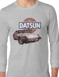 Vintage Datsun 280zx Long Sleeve T-Shirt