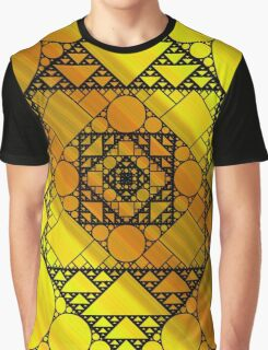 Fractal Geometry Graphic T-Shirt