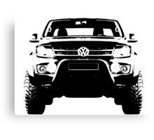 Volkswagen Amarok - Front view Canvas Print