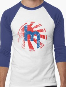 Vintage Mazda Sun Men's Baseball ¾ T-Shirt