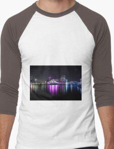 Media City Manchester And Lowrie Centre Men's Baseball ¾ T-Shirt