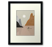 Chinese scape Framed Print